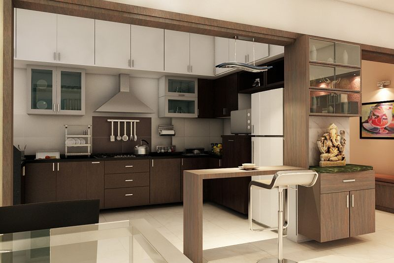 # Kitchen # Interiors In # Bangalore .