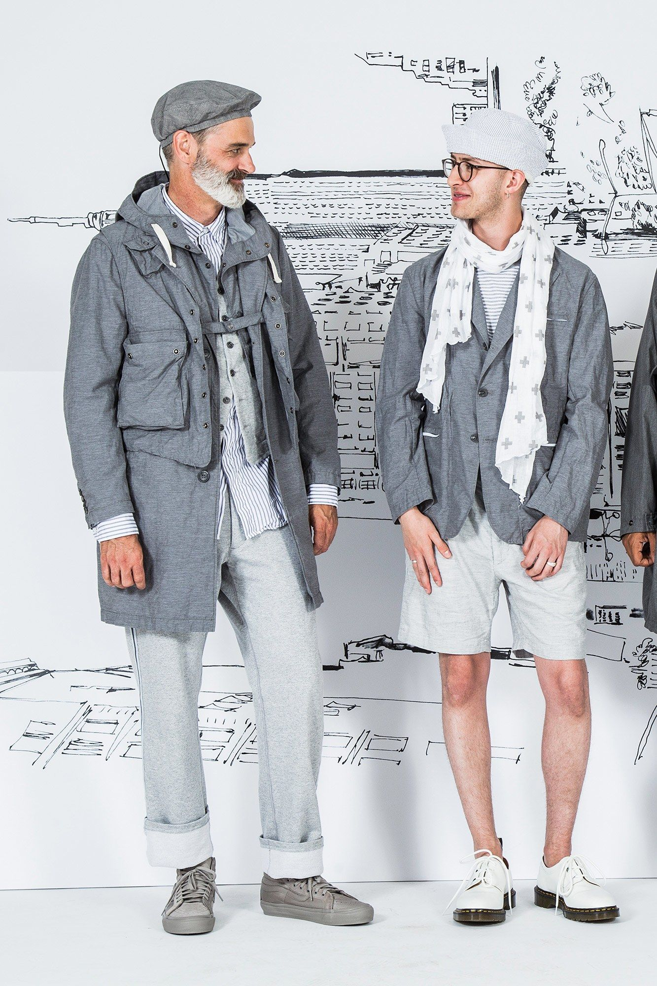 Engineered Garments Spring 2017 Menswear Undefined Photos ...
