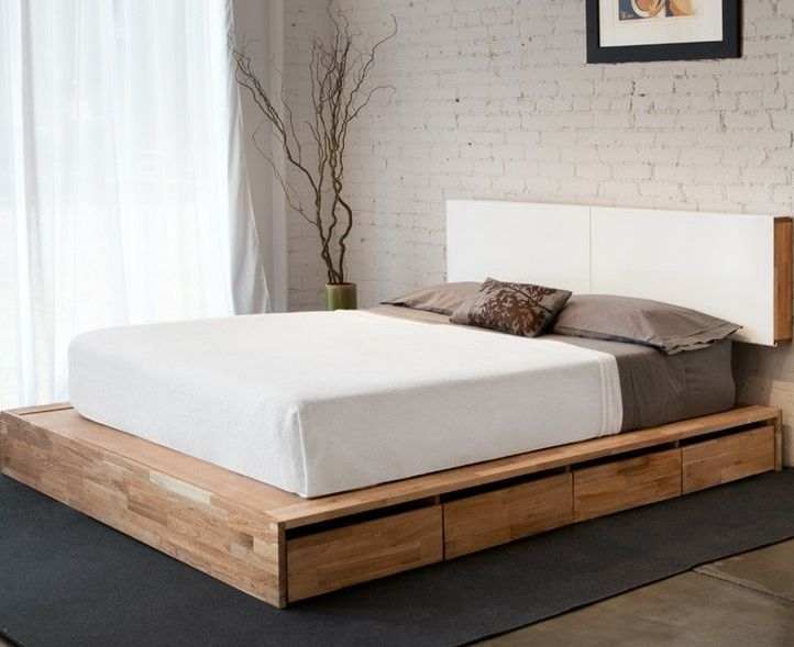 king size bed frames | My Dream Home | Pinterest | Marcos y Camas