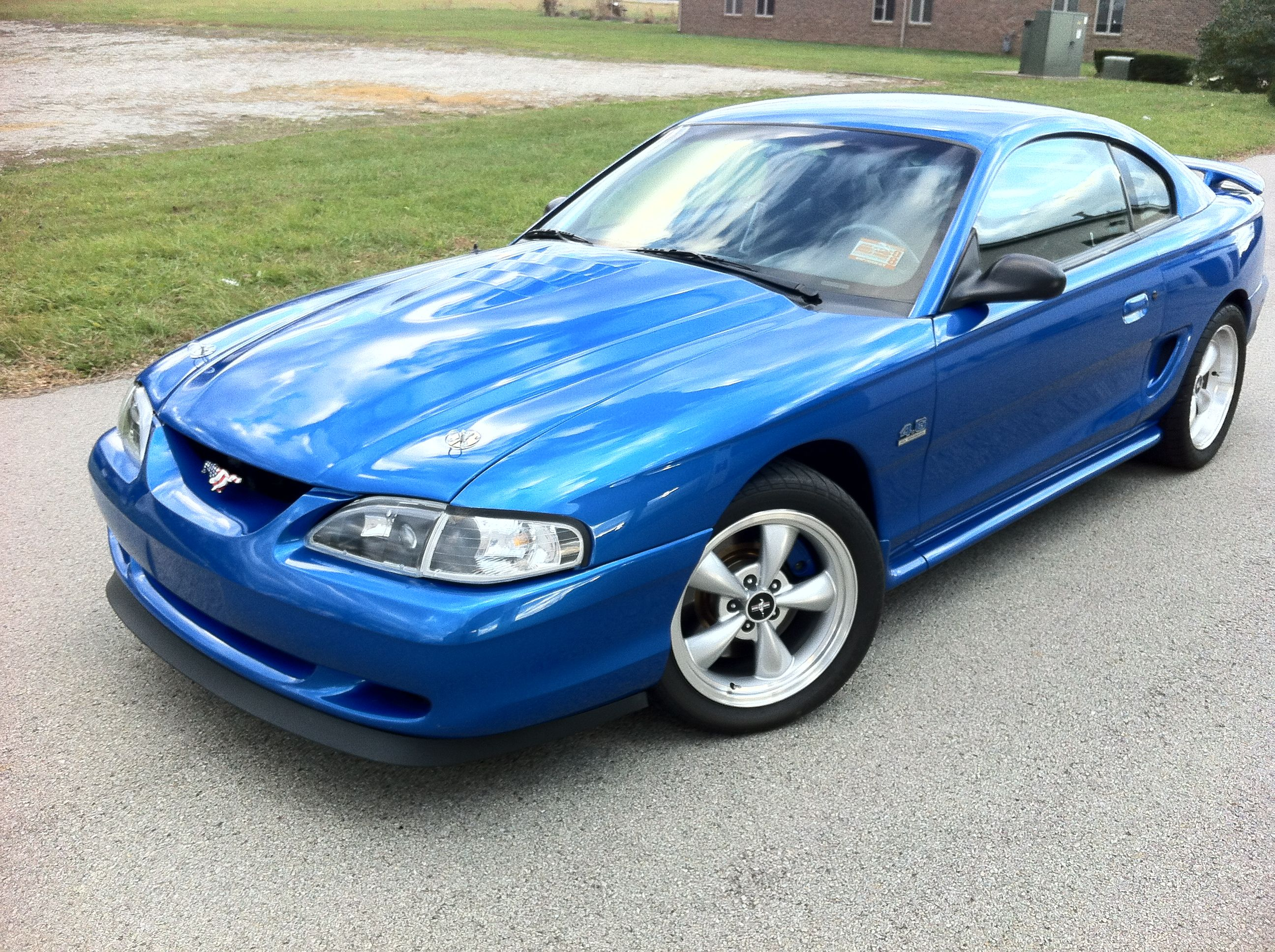 1998 mustang gt bright atlantic blue pi 4 6 lots of other mods