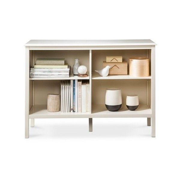 Bookshelf: Threshold Windham Horizontal Bookcase - Shell ($90) ❤ liked on Polyvore featuring. Modern BookshelfModern ShelvingBook ShelvesStorage ...