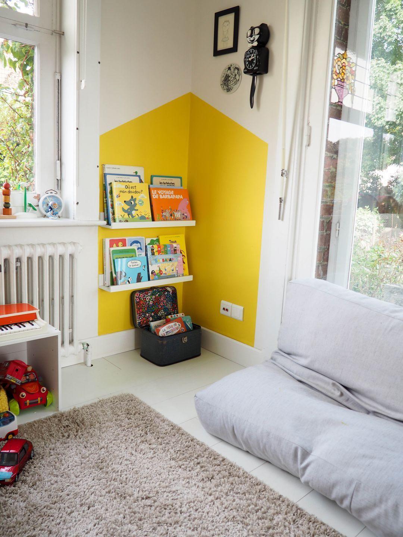 DIY: Peindre une maison dans un coin de mur | Amenagement salle de jeux, Déco maison, Décor de ...
