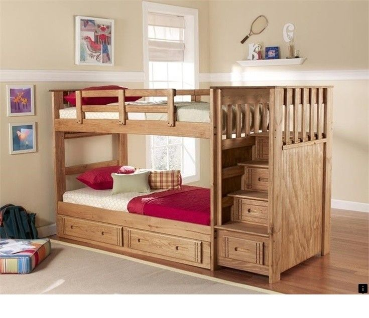 Find Out About Twin Over Full Bunk Bed With Stairs And Trundle