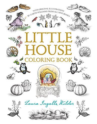 Little House Coloring Book (Little House Merchandise) by ... https ...