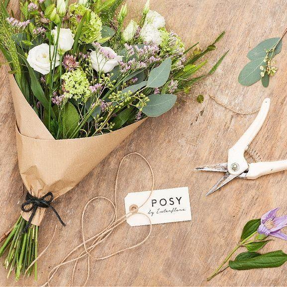 Modtag en håndbunden og smuk buket direkte til døren hver uge med et POSY-abonnement ☺️#posydk