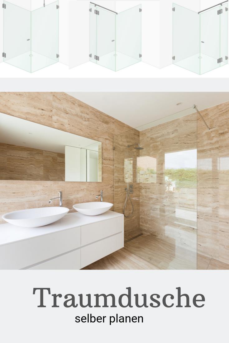 Planen Sie Fur Ihr Neues Badezimmer Die Duschkabine Selbst Die Neuen Online Tools Von Glasprofi24 Machen Es Ihnen E Badgestaltung Traumdusche Dusche