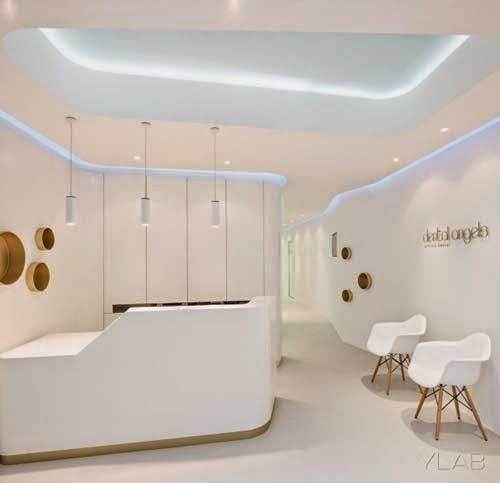 modern dental office interior designylab arquitectos | modern