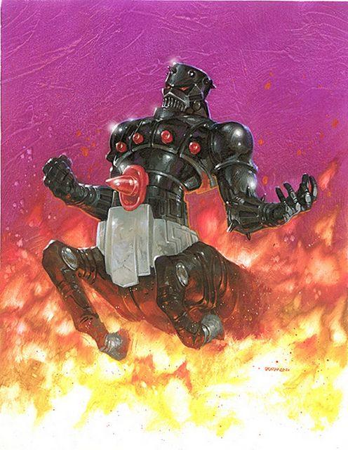 Baron Karza. Micronauts. By Dave Dorman by Dave Dorman Artwork, via Flickr