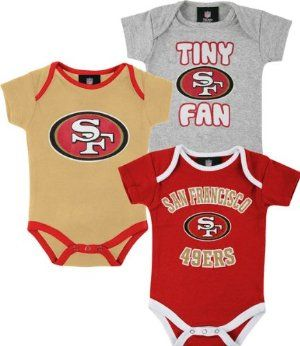half off 12773 0c5db san francisco 49ers baby jersey