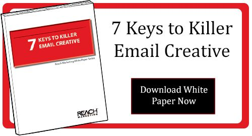 New Email Marketing Guide - Complimentary Download: 7 Keys to Killer Email Creative