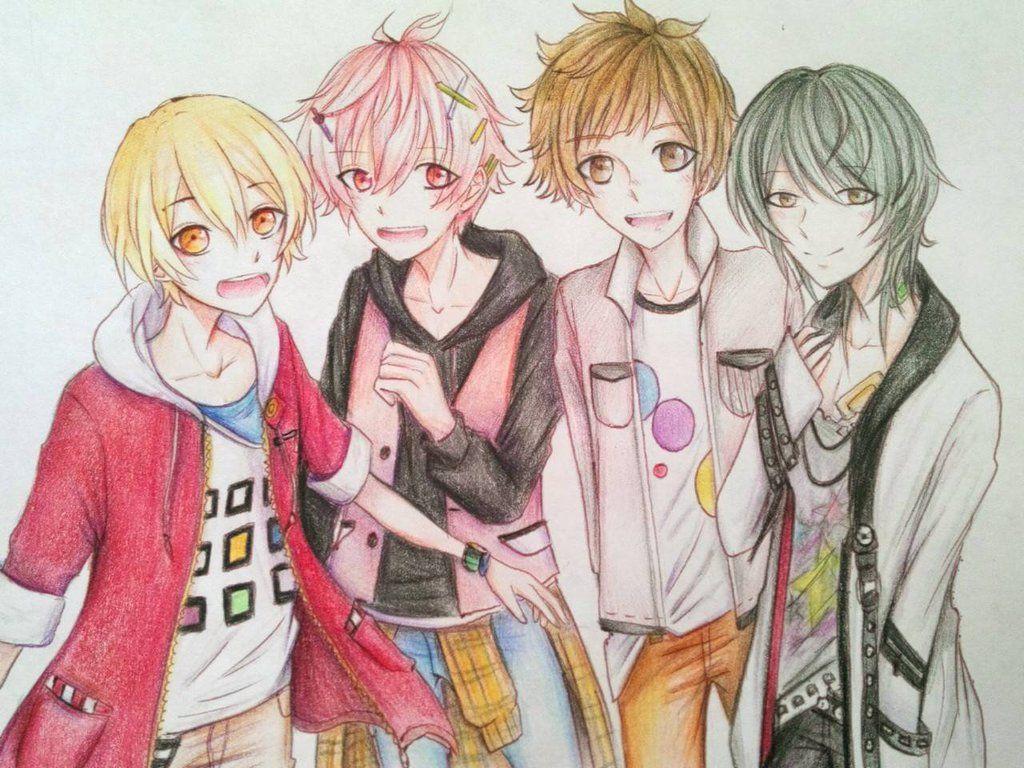 Tsukiuta Junior Group by ZBPurpleBerry tsukiuta Pinterest Group