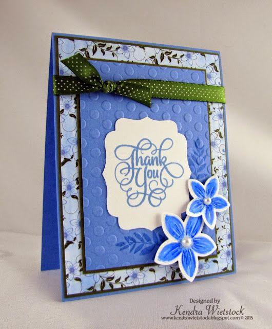 Kendra's Card Company: Tutorial: Gina K & Spectrum Noir Tutorial