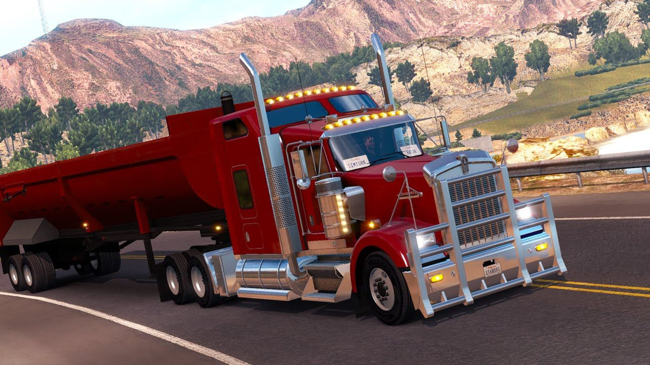 American Truck Simulator Efsanevi Kenworth W900 Güncellemesi ...