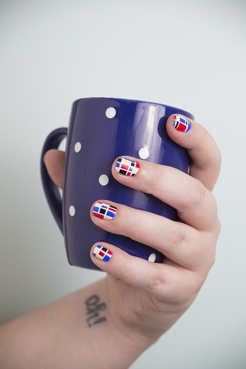 Manicure Monday: Nails by Dallas Beautifies our Pittsburgh Office! - Story by ModCloth