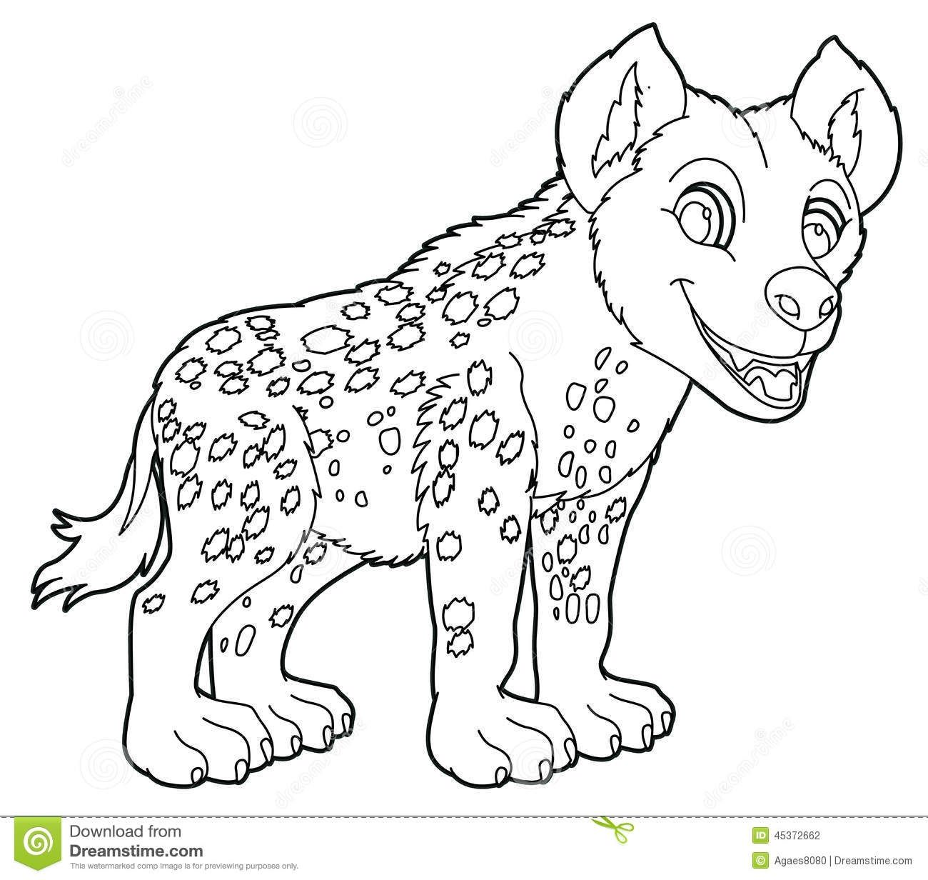 Hyenas Coloring Pages Gallery Coloring Pages Animal Coloring Pages Jungle Animals