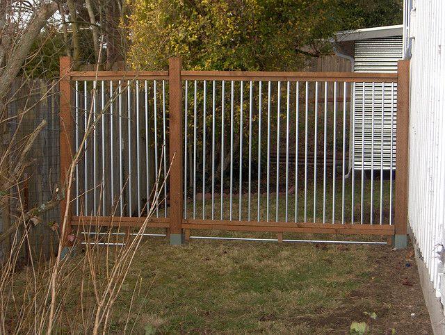 dog fencing idea