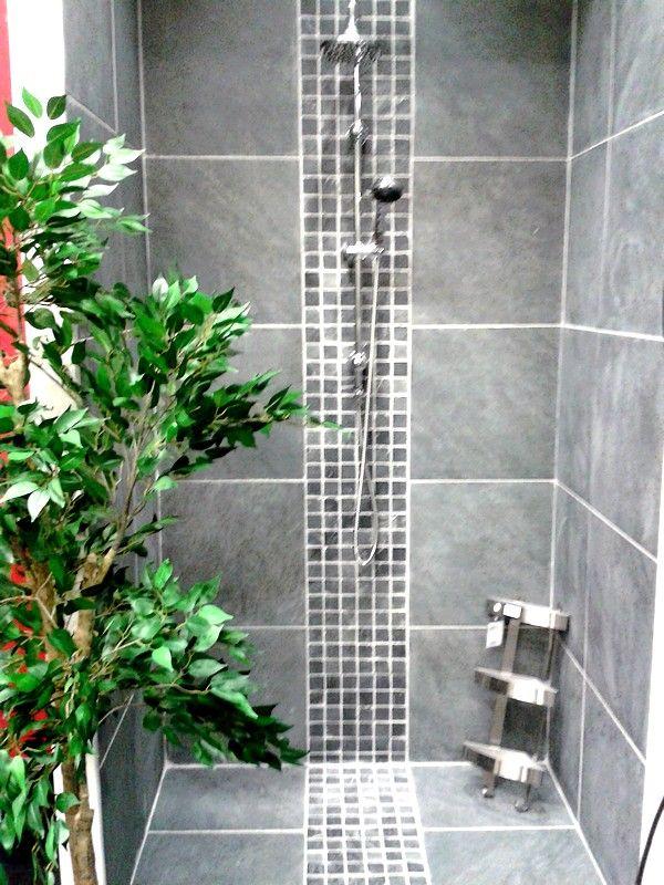 Douche A L Italienne By Ikea Idee Salle De Bain Salle De