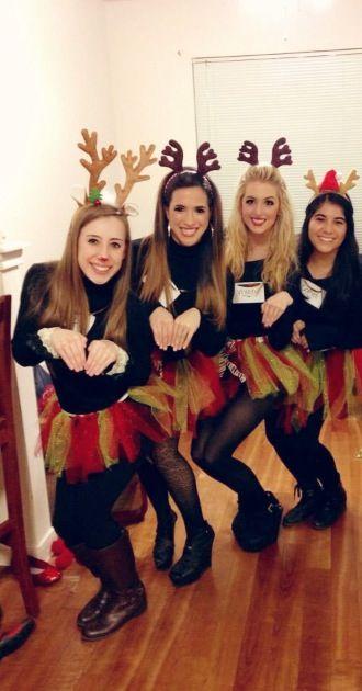 Santas Reindeer Fun CostumesGroup CostumesDiy Halloween CostumesCostume IdeasChristmas
