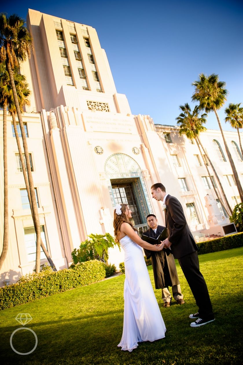 Pic Ideas Outdoor San Go Courthouse Ceremony Civil Wedding Elope