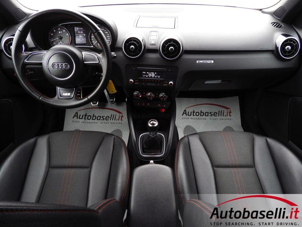 Audi S1 Sportback 2 0 Tfsi Quattro 231 Cv Sedili Sportivi In Pelle