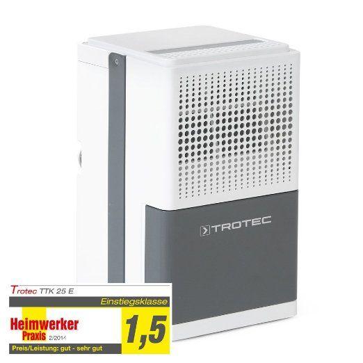 TROTEC Luftentfeuchter TTK 25 E (max 12 Liter Tag