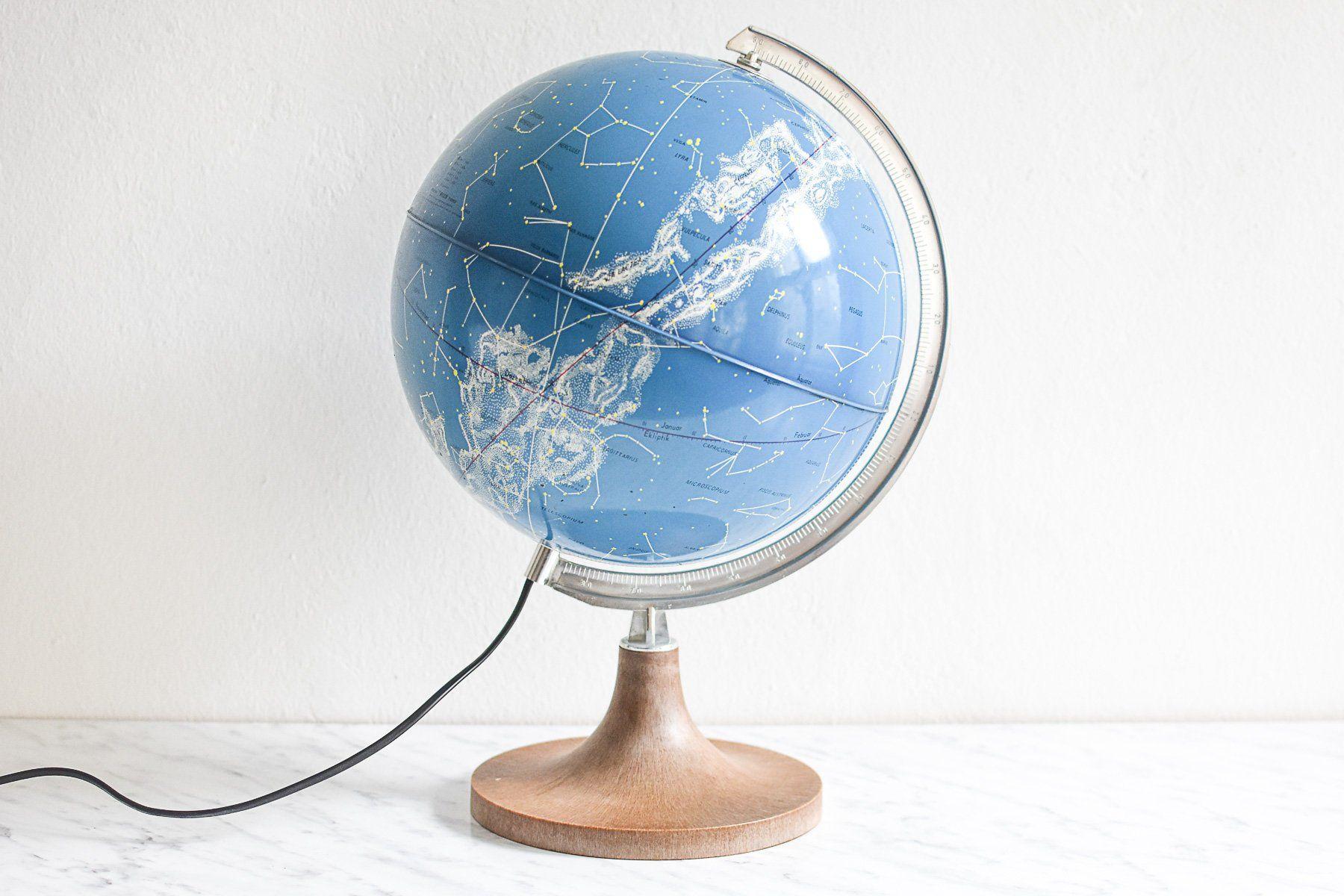 Globus Weltkugel Karte.Himmelsglobus Astronomie Globus Sternenkarte Konstellationen