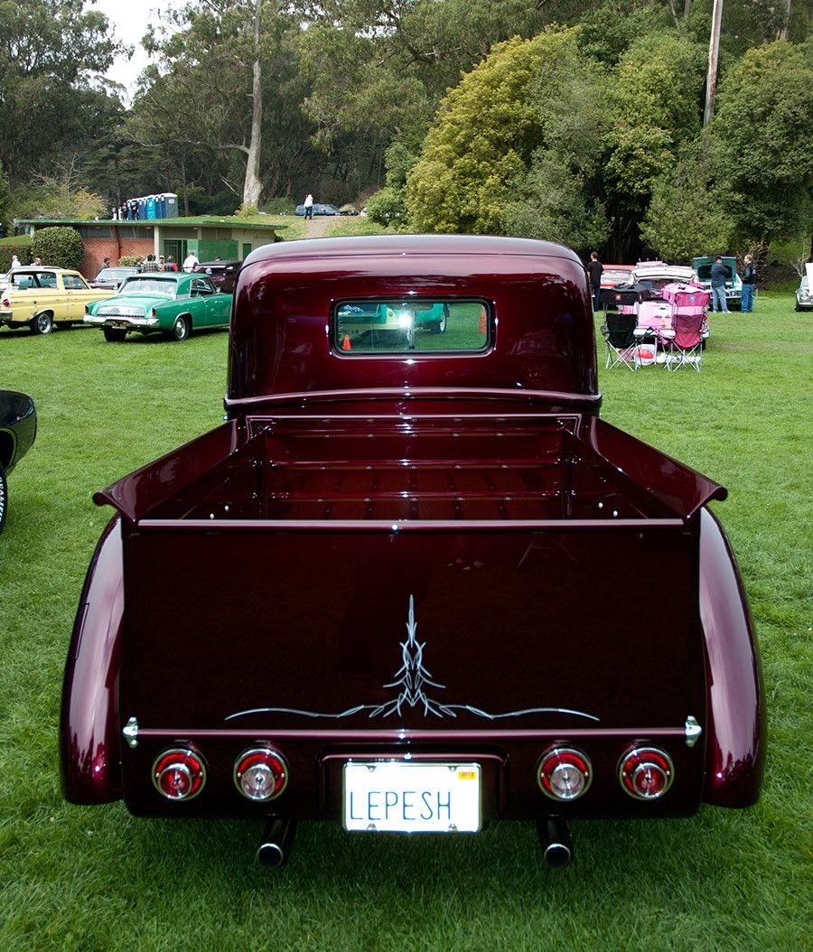 1941 Ford Pickup Interview With Owner David Posey Hot Rods And Truck Rod Pozzi 9