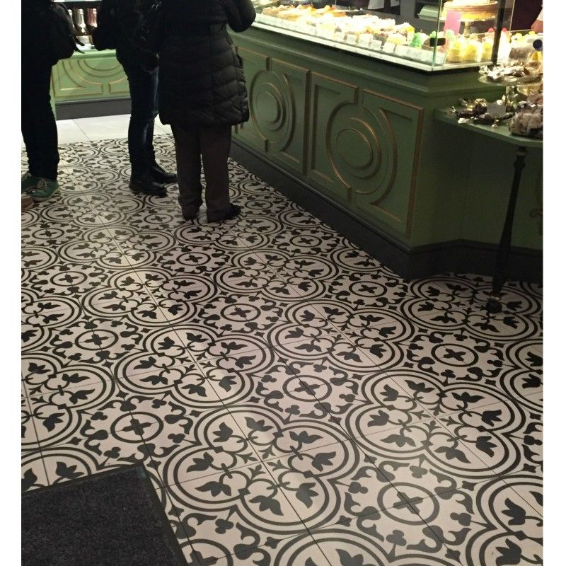 Encaustic cement tiles UK sale online REF. 125 Classic Victorian ...
