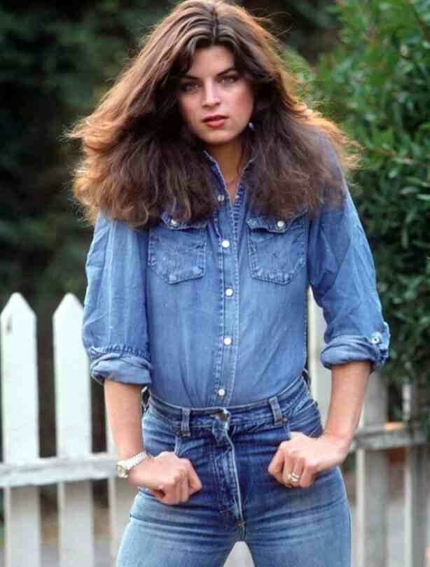 young kirstie alley so pretty people kirstie alley