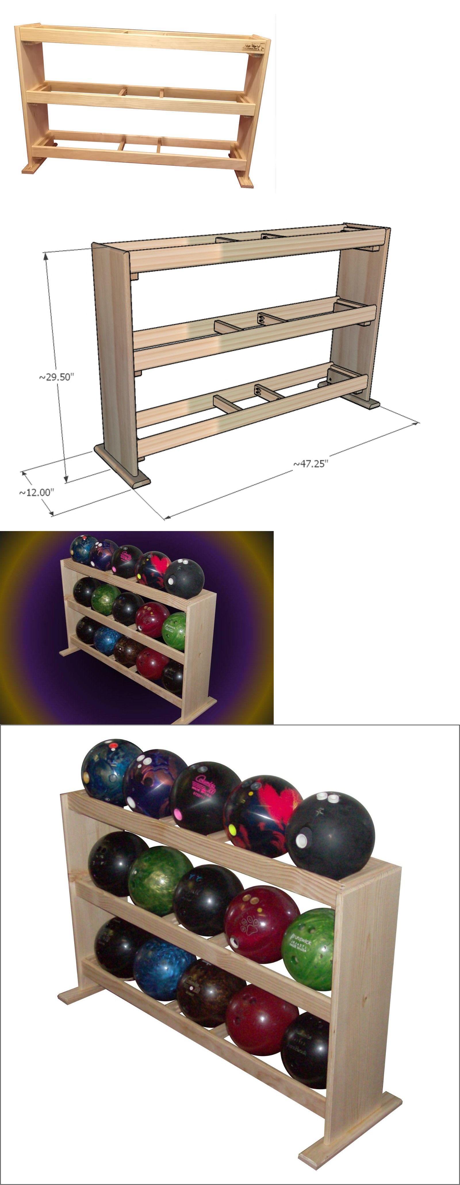 Bowling Ball Rack 15 Ball Capacity