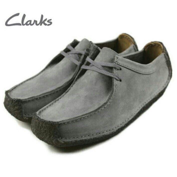 Perfekt Clarks Herren Originals Weaver W Schwarzes Wildleder