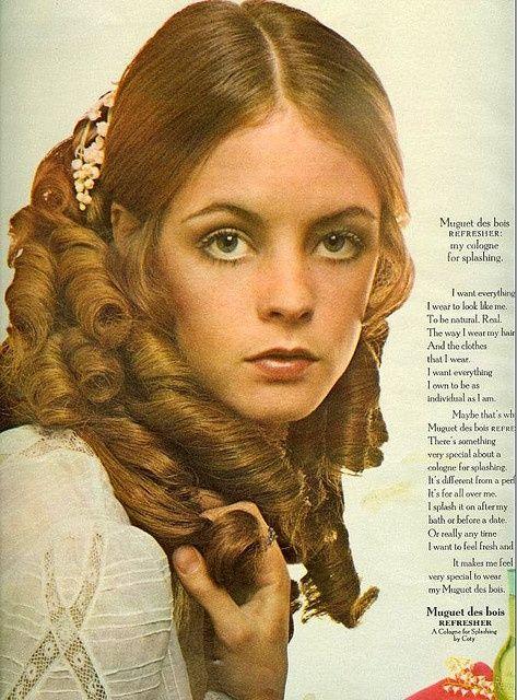 Muguet de bois Cologne advertisement, Seventeen magazine, June 1969. Loved this cologne!