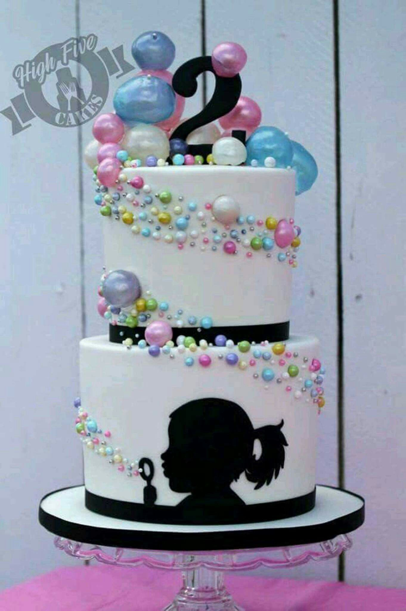 Incredible Just A Cute Picture I Saw Silhouette Cake Bubble Cake Cake Personalised Birthday Cards Paralily Jamesorg