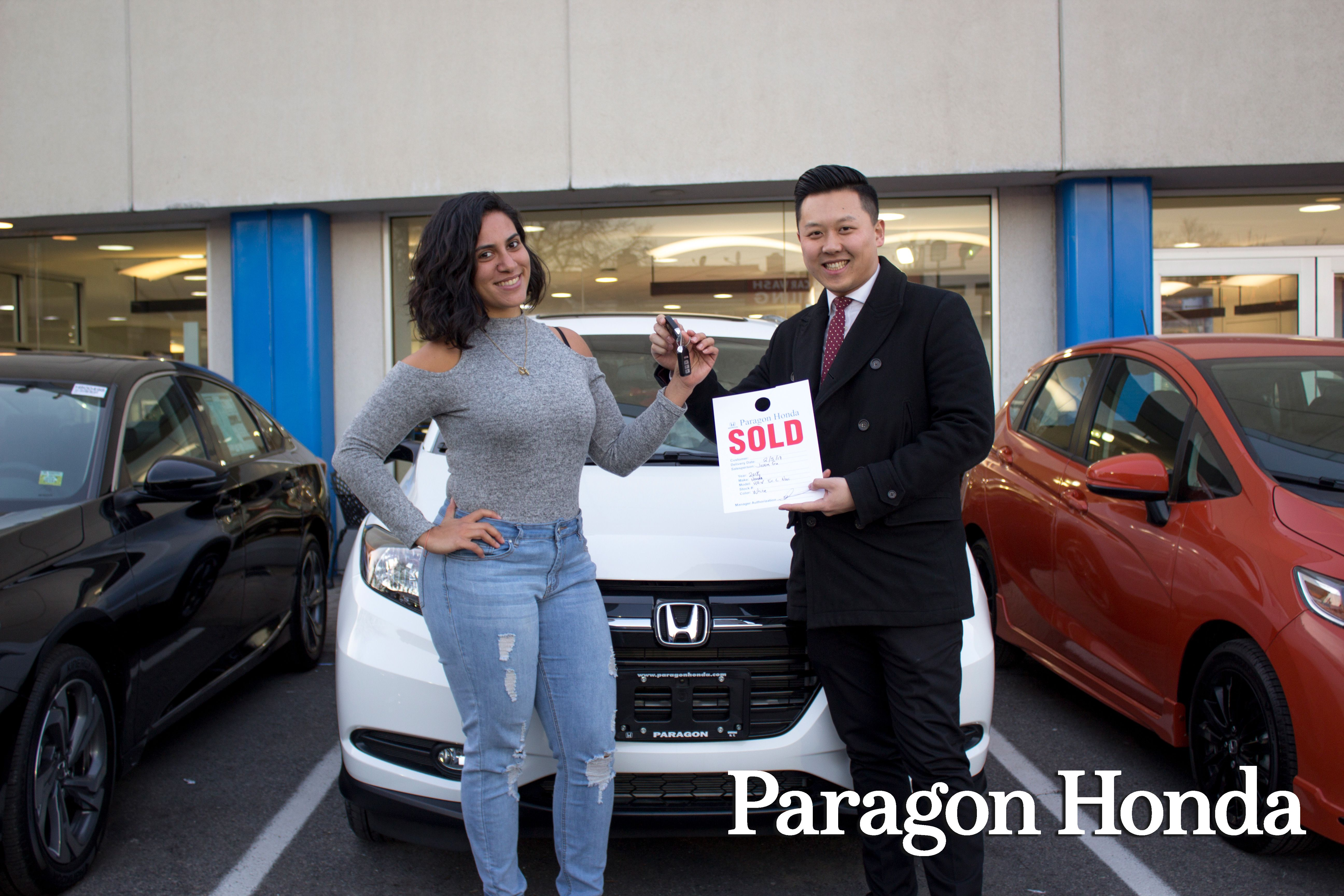 Nice We Would Like To Congratulate Amira On The Purchase Of Her New 2018 Honda  HR V! Kudos To Jason Jsngu For Providing Her With Excellent Customer  Service.