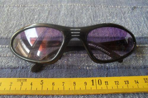 1 verschärfte Sonnenbrille neu lila Nr.58 Brille