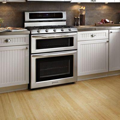 Kitchenaid 5 Burner Freestanding Double Oven Range