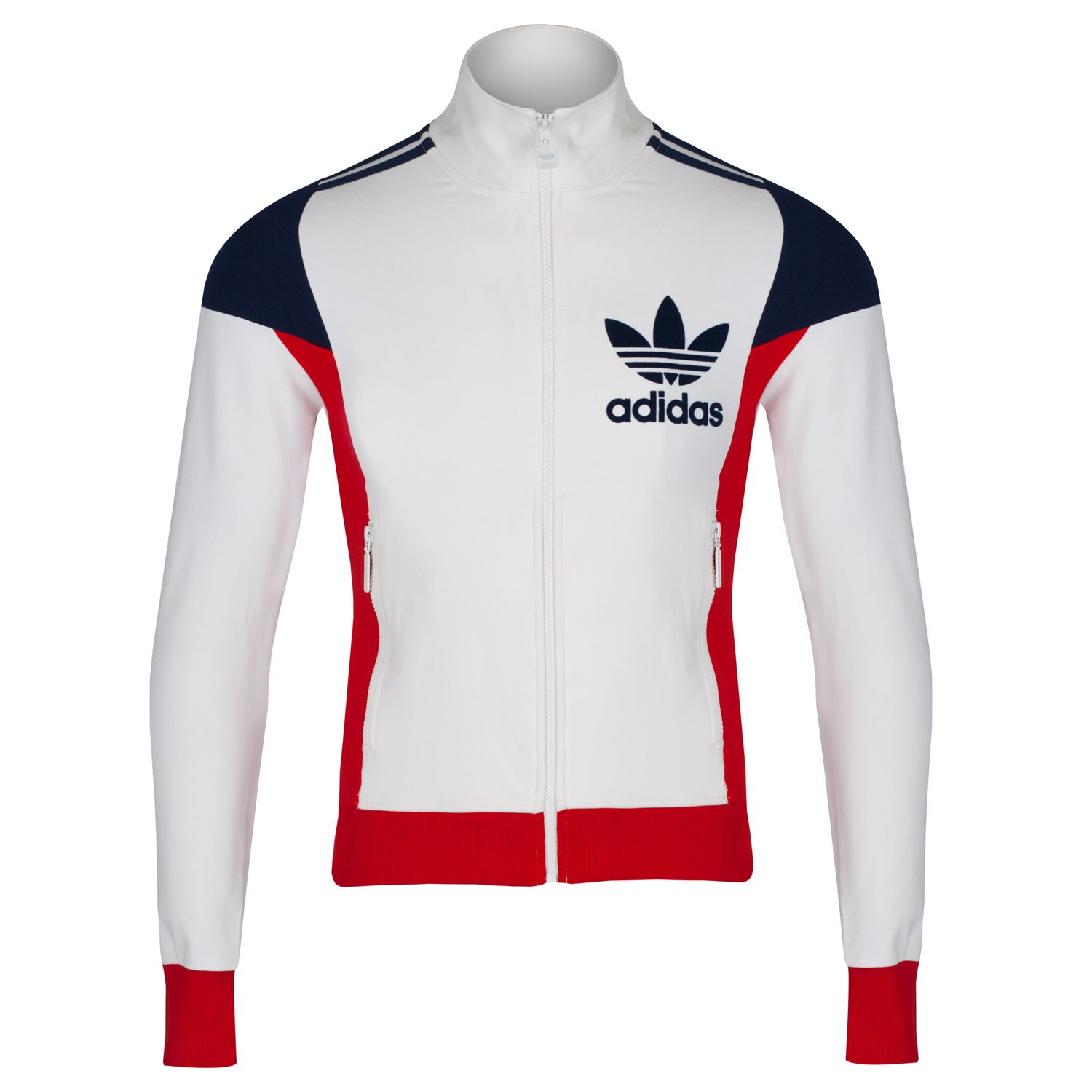 7fcae2c1b9e adidas-Originals-Mens-3-Stripe-80s-Retro-Track-Top-Tracksuit -Slim-Fit-B-Grade