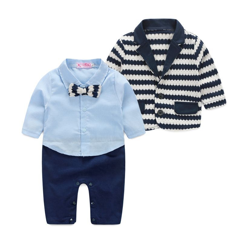 2a438d0ee2e5 New 2016 spring baby clothes baby Gentleman clothing boys long ...