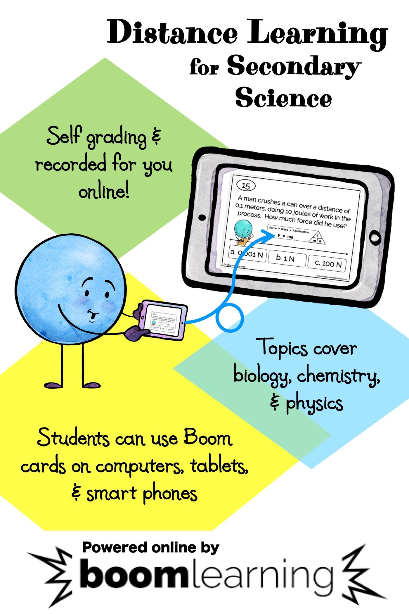 Interactive Online Task Cards For Distance Learning In