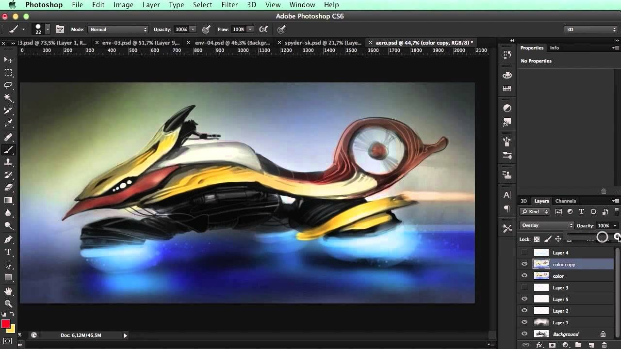 2 подхода в цифровой Живописи и Иллюстрации