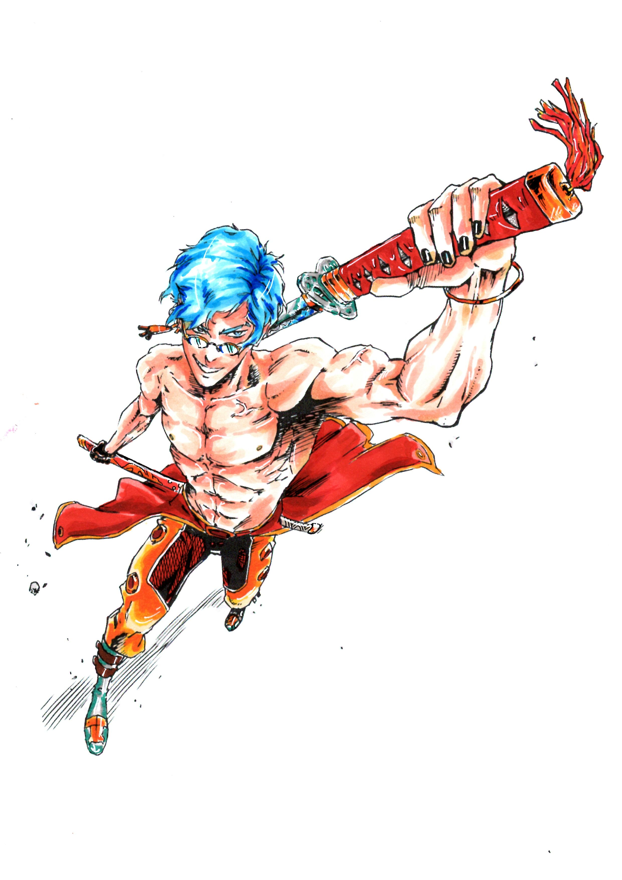 Coloured In An Inking Done By Whyt Manga Anime Character Design Character Art Character Design