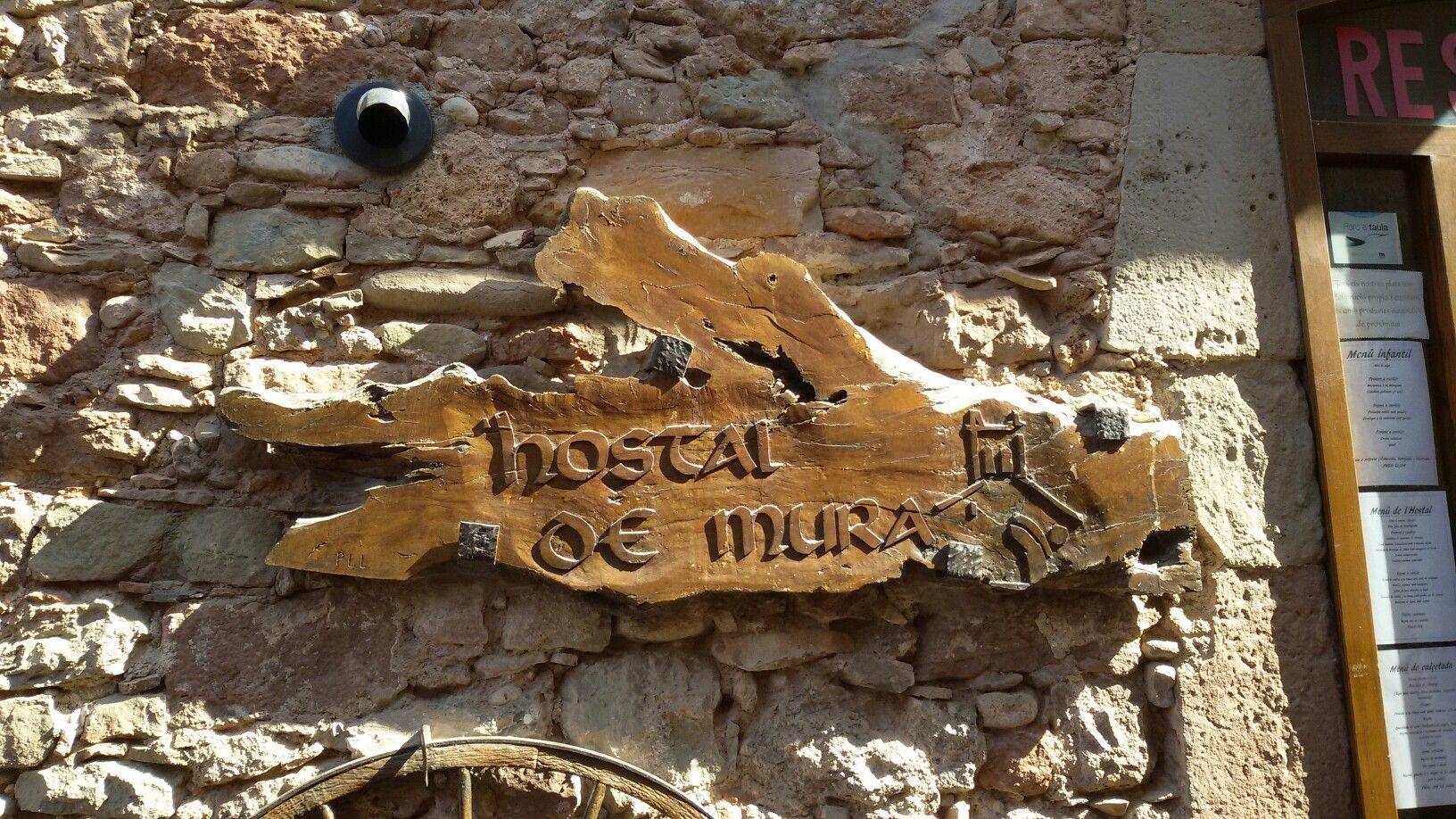 Mura, Barcelona.