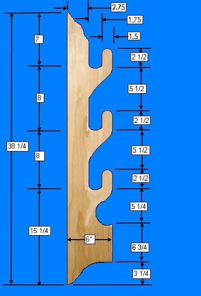 Free Gun Rack Plans - How to Build A Gun Rack | Misc. | Pinterest | Guns, Free and Woodworking