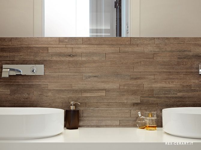 Houten tegel badkamer decor tiles bathroom and wood