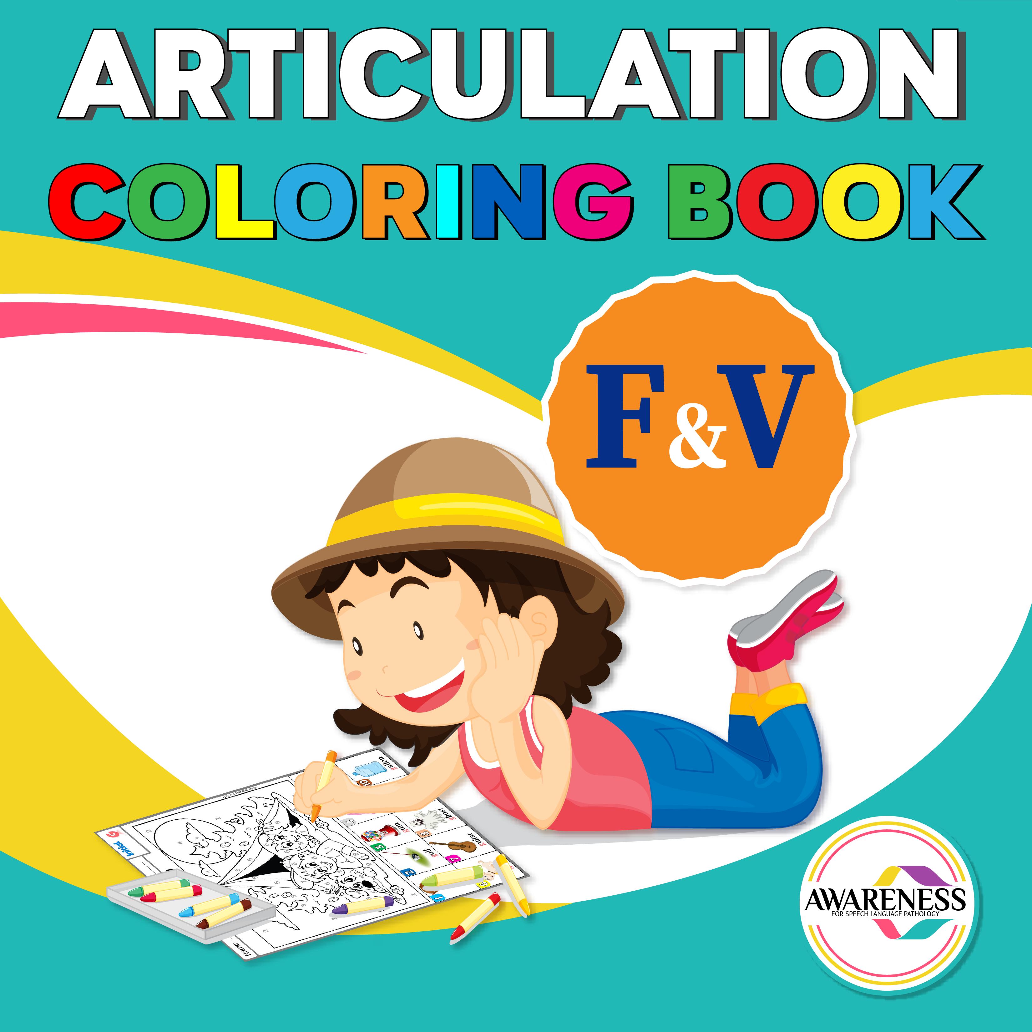 F And V Articulation Worksheets