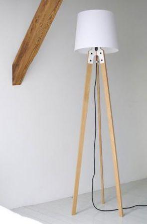 de maderatrípodeby moderna de lámpara Nachacht pie Y6f7ygb