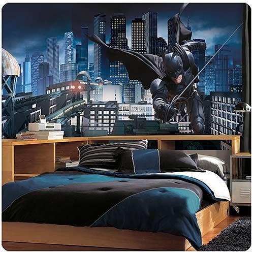 Batman Dark Knight Rises Giant Prepasted Wall Mural Batman dark