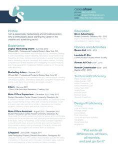 love the header banner on this graphic resume design pinterest