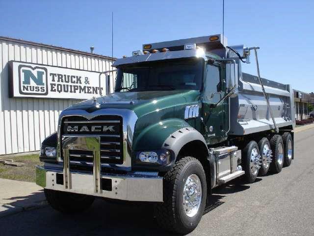 Mack Trucks 2012 Mack Dump Truck Gu713 For Sale Trucks Dump