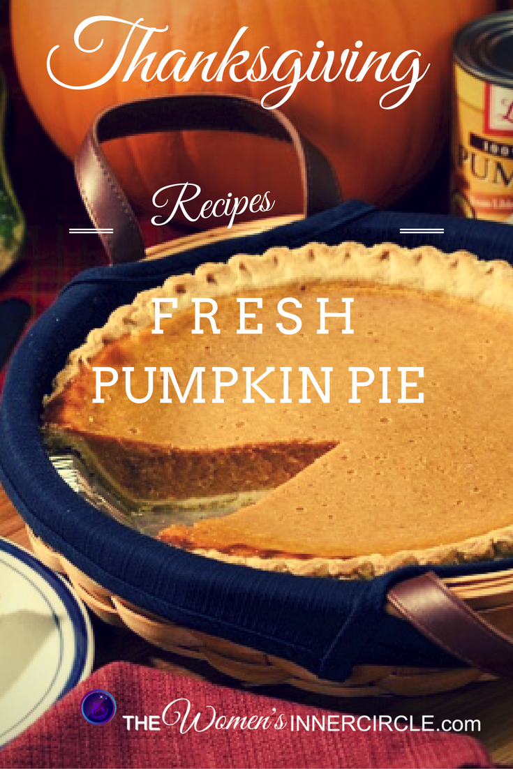 Thanksgiving Pumpking Pie. Looking for a Truly Fresh Pumpkin Pie Recipe for Thanksgiving? Look no further. Julie brings us the real deal! Click here for the recipe and instructions ...